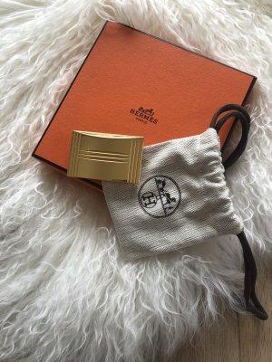 Hermès Boucle de ceinture doré