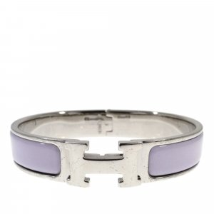 Hermès Bracelet silver-colored real silver