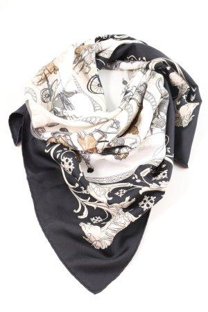 Hermès Halstuch grafisches Muster Casual-Look