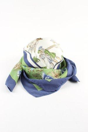 Hermès Halsdoek bloemenprint casual uitstraling