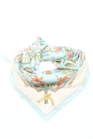 Hermès Neckerchief flower pattern casual look