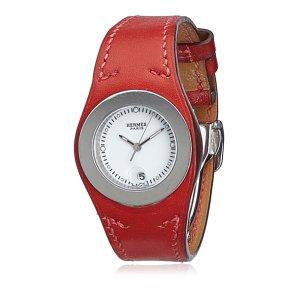 Hermes Harnais Leather Watch
