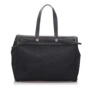 Hermès Sac fourre-tout noir