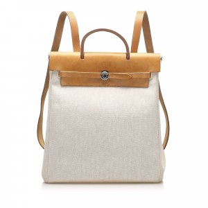 Hermès Plecak beżowy