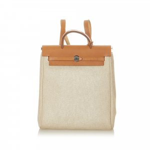 Hermès Backpack beige