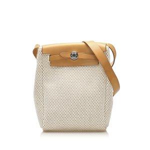 Hermes Herbag TPM Canvas Crossbody Bag