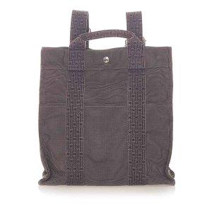 Hermès Backpack dark brown