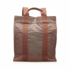 Hermès Mochila marrón