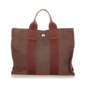 Hermès Tote brown