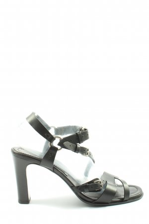 Hermès High Heel Sandal black business style