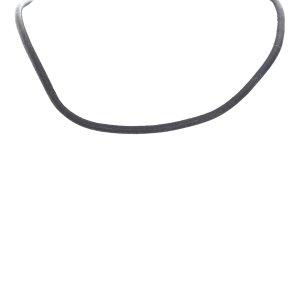 Hermès Necklace black leather