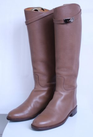 Hermès Riding Boots multicolored leather