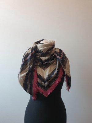 Hermès Bufanda de cachemir multicolor