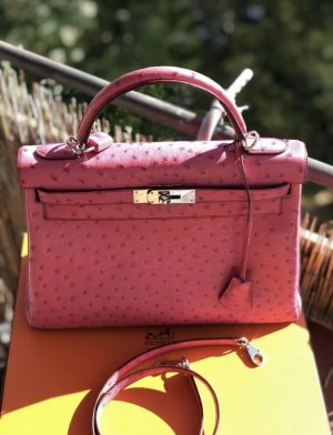 Hermès Handtas roze
