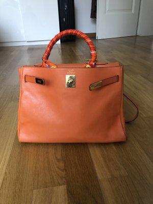 Hermès Handtas oranje