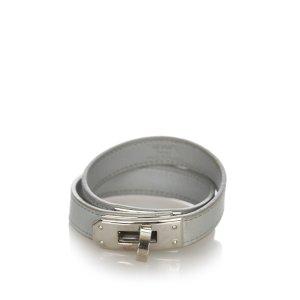 Hermès Armband groen Leer