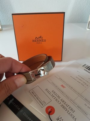 Hermes Kelly Double Tour Armband etoupe
