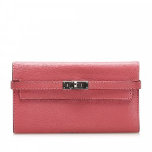 Hermes Kelly Leather Wallet