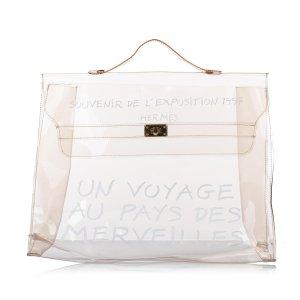 Hermes Kelly Vinyl Handbag