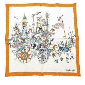 Hermes La Folle Parade Silk Scarf