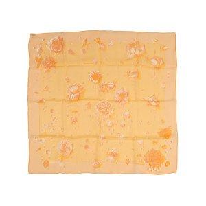 Hermès Sjaal oranje Zijde