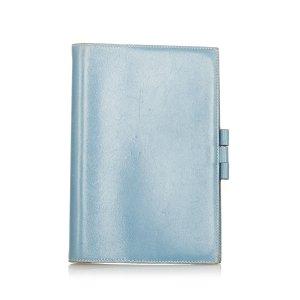 Hermès Borsetta mini blu Pelle