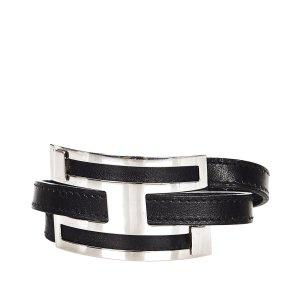 Hermès Bracelet black leather