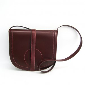 Hermes Leather Crossbody Bag