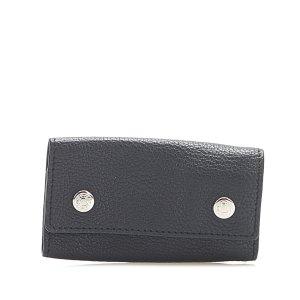 Hermès Etui na klucze czarny Skóra