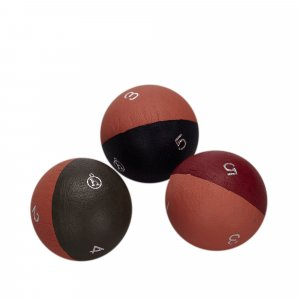 Hermes Leather Triple Globe Dice