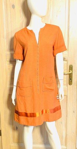 Hermés Leinen Kleid vintage, Gr. 40
