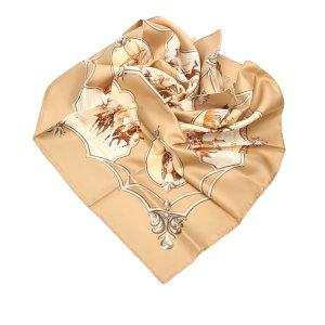 Hermes Les Chevaux Des Moghols Silk Scarf
