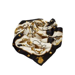 Hermès Sciarpa nero Seta