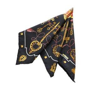 Hermès Scarf black silk