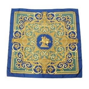 Hermes Les Tuileries Silk Scarf