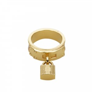 Hermes Loop Charms Cadenas Scarf Ring