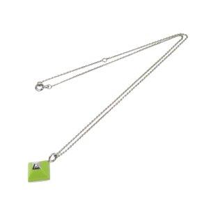 Hermès Necklace silver-colored metal