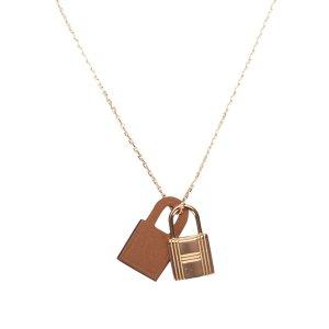 Hermès Necklace gold-colored metal