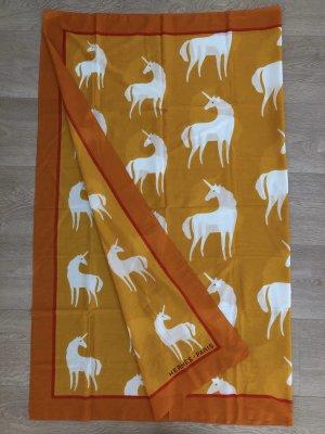 Hermès Ręcznik plażowy Wielokolorowy Bawełna