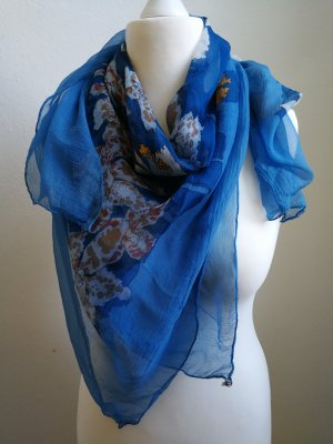 Hermès Sciarpa di seta multicolore Seta