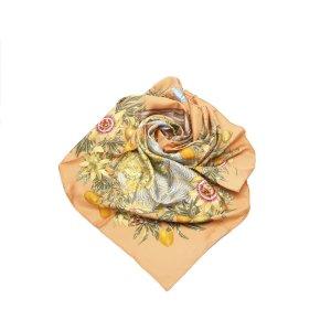 Hermes Passiflores Silk Scarf