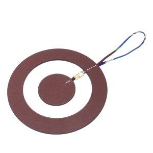 Hermès Key Chain brown leather