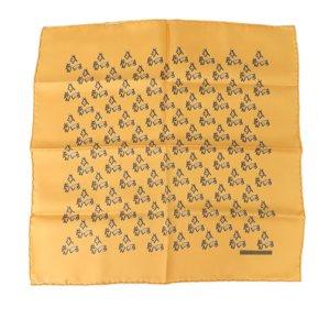 Hermes Printed Silk Handkerchief