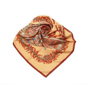 Hermès Bufanda rojo Seda