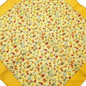 Hermès Sciarpa giallo Seta