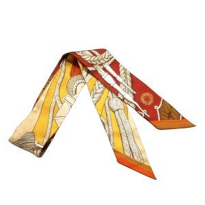 Hermès Sciarpa arancione Seta
