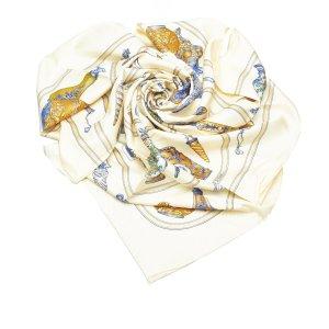 Hermes QuImport le Flacon Silk Scarf