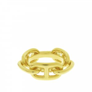 Hermès Scarf gold-colored metal