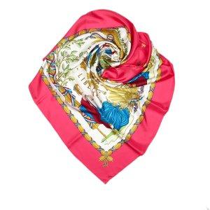 Hermes Republique Francaise Liberte Egalite Fraternite Silk Scarf