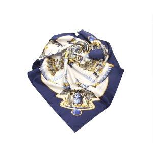 Hermes Scarabees et Pectoraux Silk Scarf